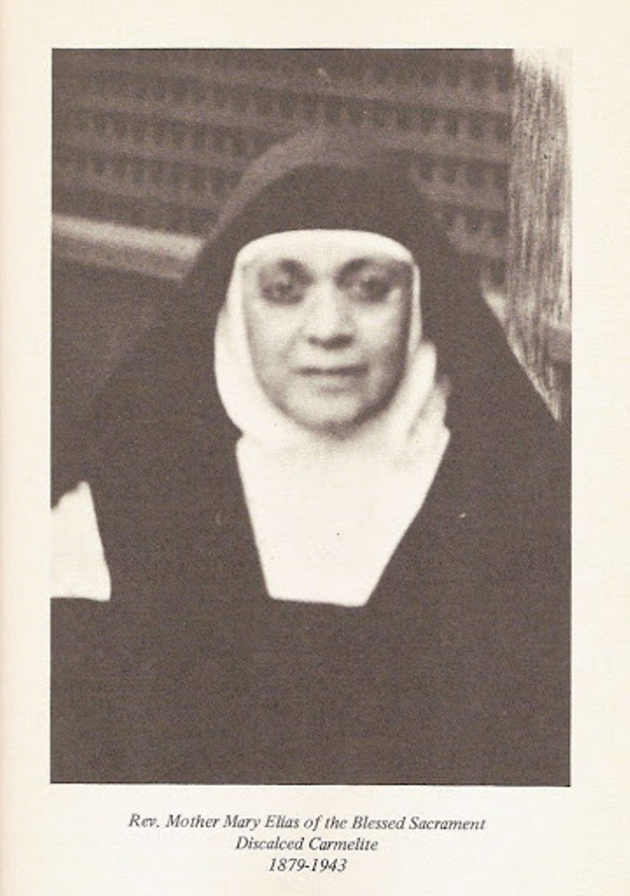 Seminary Patroness Mother Elias