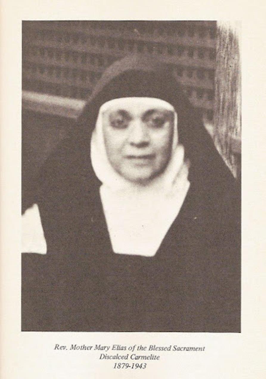 Seminary Patroness Mother Elias