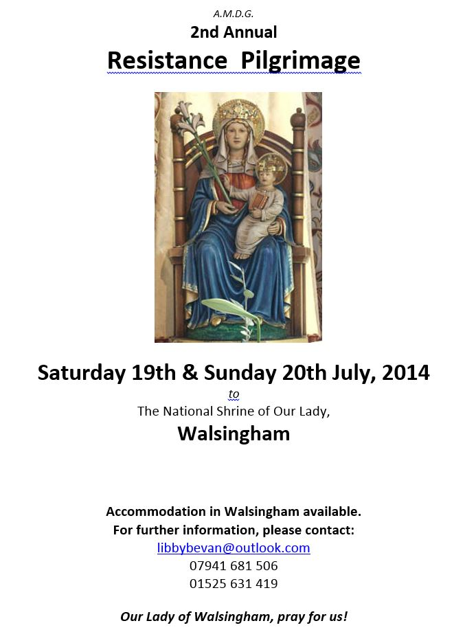Capture Walsingham