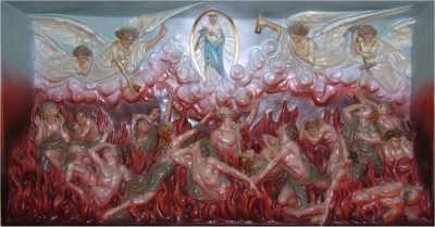 Santa Catalina de Genova purgatorio