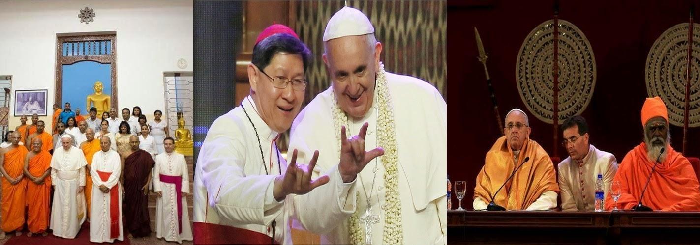 Sincretismo diabólico de Bergoglio 2 NCSJB