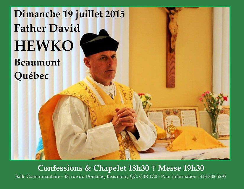 Padre Hewko Quebec